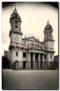 Old Postcard Pamplona Catedral Fachada