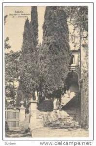 FIESOLE, Ingresso al Convento di S. Girolamo, Entrance to Convent, 00-10s, Italy
