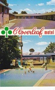Canada Cloverleaf Motel Swimming Pool Medicine Hat Alberta