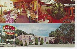 Postcard - NM - New Mexico La Cocina de Santa Fe Restaurant Unposted