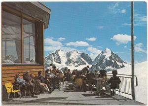 Endstation der Corvatsch-Luftseilbahn, Panoramarestaurant, Postcard