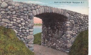Rhode Island Newport Arch On Cliff Walk Curteich