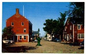 MA - Nantucket Island. Lower Maine Street