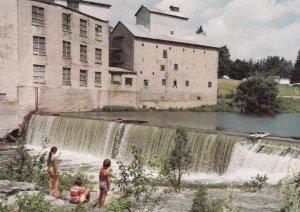 FERGUS, Ontario,1950-60s; Fergus Mill Dam