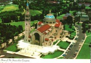 Vintage Postcard National Shrine of Immaculate Conception Washington DC