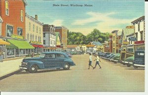Winthrop, Maine, Main Street