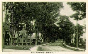 VT - Montpelier. North Main Street
