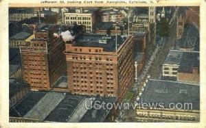 Jefferson St. Syracuse NY 1921