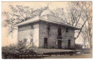 Paris Hill, Maine, The Old Jail, Built 1822, Hamlin Memorial Library