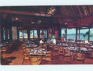 Pre-1980 RESTAURANT ON YANUCA BAY Yanuca Island - Coral Coast Fiji B9772