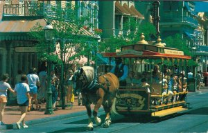 Walt Disney World Trolley Ride Down Main Street 04.12
