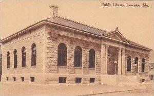 Maine Lewiston Public Library