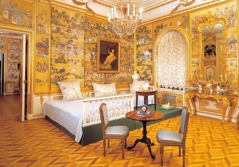 St Petersburg Russia Postcard Peterhof, The Great Palace, The Divan Room X97