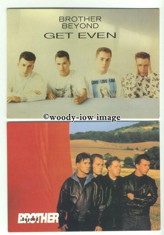 su2384 - Pop Group - Brother Beyond - 3 postcards