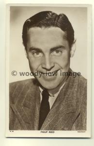 b0008 - Film Actor - Philip Reed - Picturegoer Postcard W703