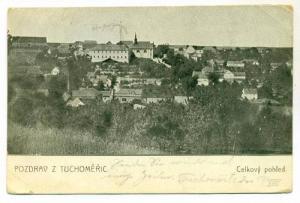 Pozdrav z Tuchomeric , Celkovy pohled, Czech Republic, PU-1911