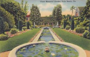 Cluett Memorial Garden Palm Beach Florida