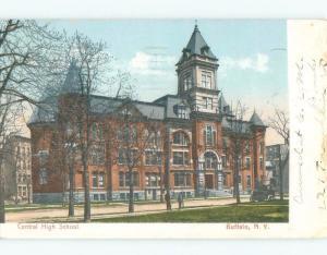 Divided-Back HIGH SCHOOL SCENE Buffalo New York NY E2522