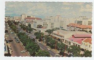 P2019 vintage postcard birds eye view east africa kenyatta ave nairobi unused