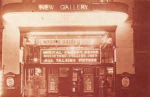 Nostalgia Postcard New Gallery, Regent Street, London, 1929 #CL16