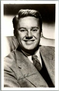 Vintage Hollywood Actor RPPC Real Photo Postcard VAN JOHNSON c1940s Unused