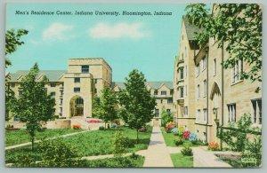 Bloomington Indiana~Indiana University~Men's Residence Center~Flower Beds~1940s