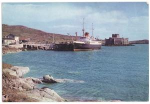 The Claymore at Castlebay Pier - Post Card - Unused