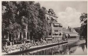 Lido Amsterdam Restaurant Real Photo Postcard