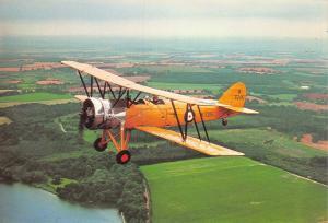 Postcard NEW Avro Tutor K3215 RAF Training Aircraft by Charles Skilton No.351