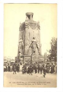 Monument Aux Morts Pour La Patrie Paris, France, 1910-1920s