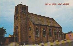 New Mexico Santa Rosa St Rose Of Lima Church