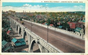 USA North Hill Viaduct Looking South Akron Ohio 04.30