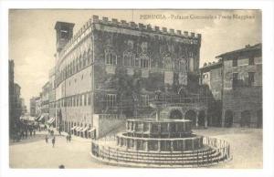 PERUGIA , Italy , 00-10s   Palazzo Communale e Fonte Maggiore