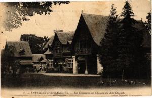 CPA AVRANCHES - les communes du Chateau du Bois Chiquot (149792)