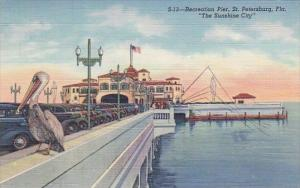 Florida Saint Petersburg Recteation Pier The Sunshine City