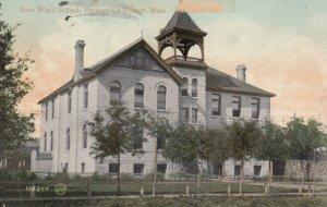 PORTAGE LA PRARIE , Manitoba , Canada , 00-10s ; East Ward School