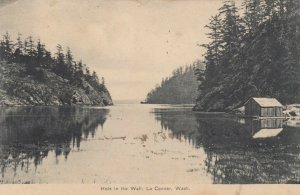 LA CONNER , Washington , 1911 ; Hole in the Wall