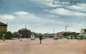 formosa taiwan, TAIHOKU TAIPEI, Railway Station (1930s) Postcard