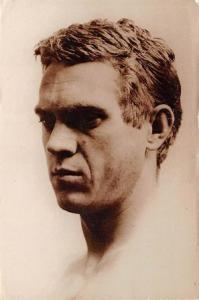 Steve Mcqueen Movie Poster Postcard