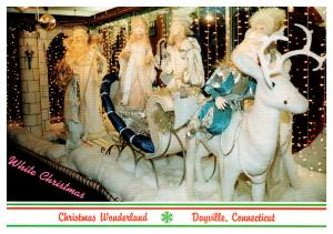 Connecticut , Dayville , Whipple's Christmas Wonderland ,  White Christmas