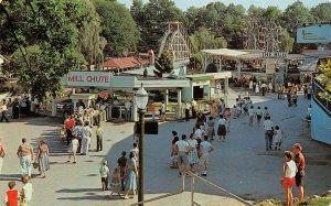 LPS94 Hershey Pennsylvania Hershey Amusement Park Rides Postcard
