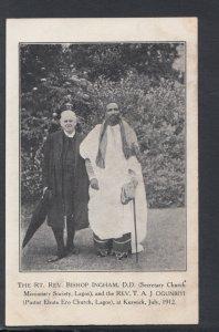 Religion Postcard-The Rt Rev Bishop Ingham & Rev T.A.J.Ogunbiyi at Keswick HP20