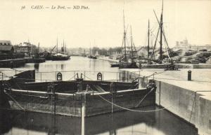 CPA CAEN - Le Port (141350)
