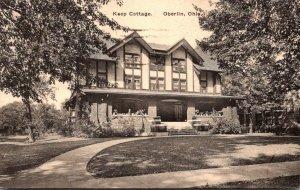 Ohio Oberlin Kent Cottage 1930 Albertype