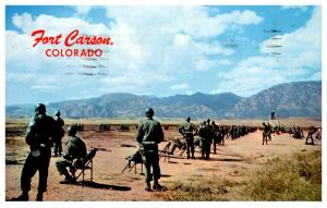Colorado   Fort Carson , Firing Range