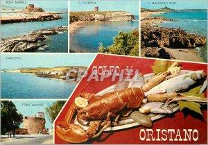 Postcard Modern Golfo di Oristano Panorama