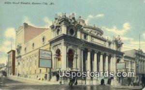 Willis Wood Theatre Kansas City MO 1911