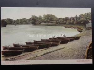 Birmingham HANDSWORTH VICTORIA PARK BOATING POOL c1905 No.12466