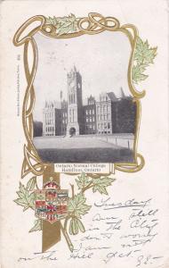 HAMILTON , Ontario , Canada , PU-1904 ; Ontario Normal College