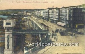 Boulevard de la Republique et les Quais Alger Algeria, Africa, Unused
